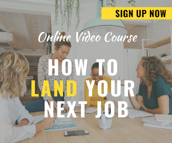 Online Course – How to Find Your Next Job