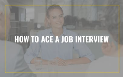 Online Course How to Ace a Job Interview
